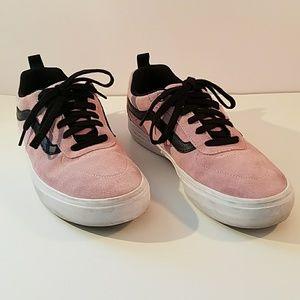 Vans Pro Kyle Walker Ultracush Pink Suede Shoes